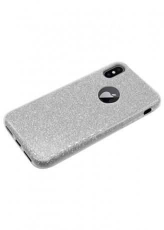 Usams Glitter Case Cover For IPhone X In Silver | Souq - Egypt