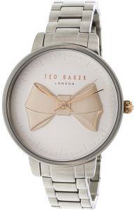 e04c3d16c Ted Baker Brook Women s White Dial Stainless Steel Band Watch - 15197004