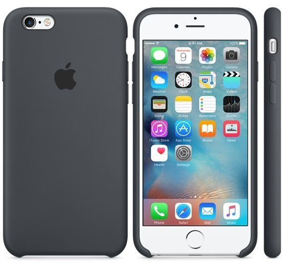 Apple Iphone 8 7 Silicone Case Grey Mmwf2zm A The Case Is