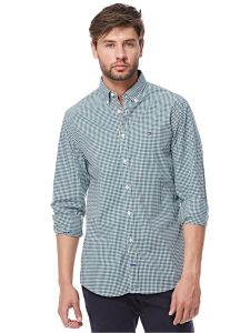 Tommy Hilfiger Shirt For Men - White & Navy