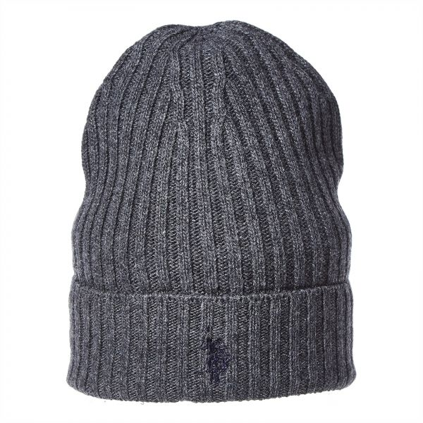 U.S. Polo Assn. Beanie for Men - Dark grey  82fc5b1927d