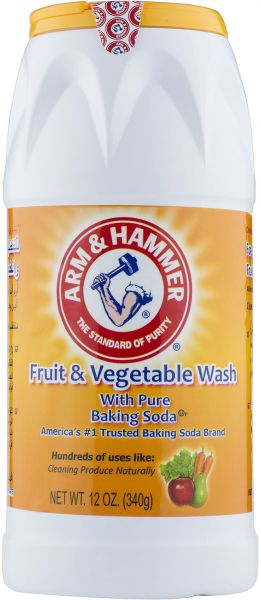 Arm & Hammer Fruit & Vegetable Wash with Pure Baking Soda - 340 g