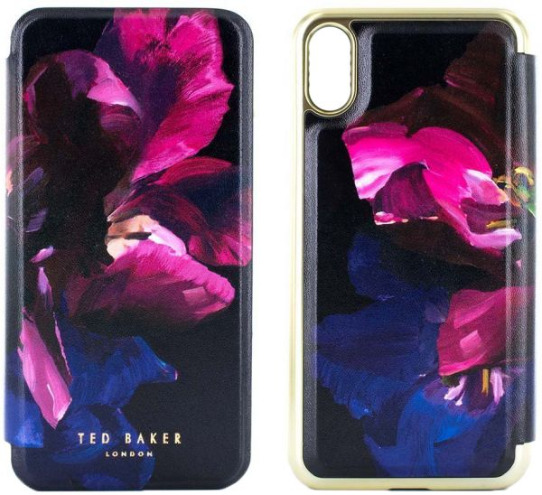 748ff84b8 Ted Baker Helen Mirror Folio Case for Apple iPhone X - Impressionist Bloom