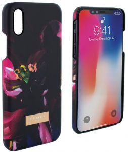 8a6a2f91dc34 Ted Baker Loliva Mirror Folio Case for Apple iPhone X - Impressionist Bloom