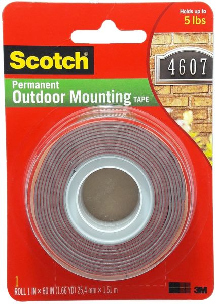 3m scotch 4011 permanent outdoor mounting tape price review and buy