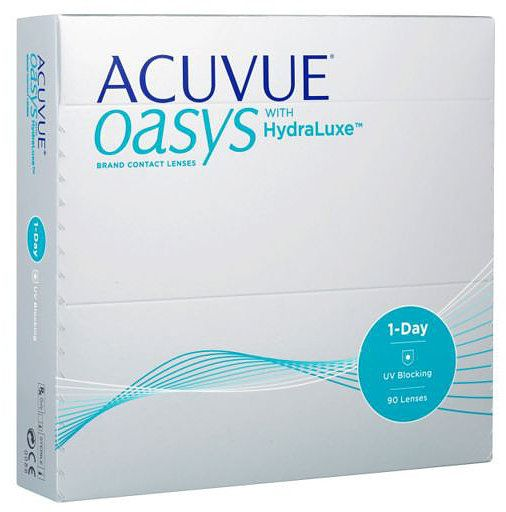 09b104df6cf 1 Day Contact Lenses Acuvue Oasys 90 Pack -5.75