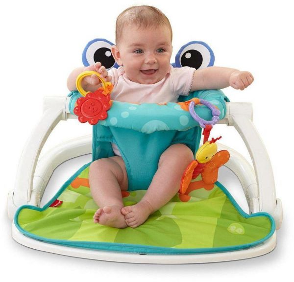 18064855c9c6 Baby floor seat activity center sit up infant feeding playing chair ...