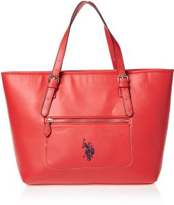 U S Polo Assn Tote Bag For Women Red