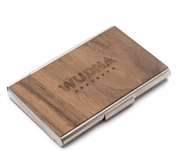 Wudn unique professional business card casewallet premium this item is currently out of stock reheart Images