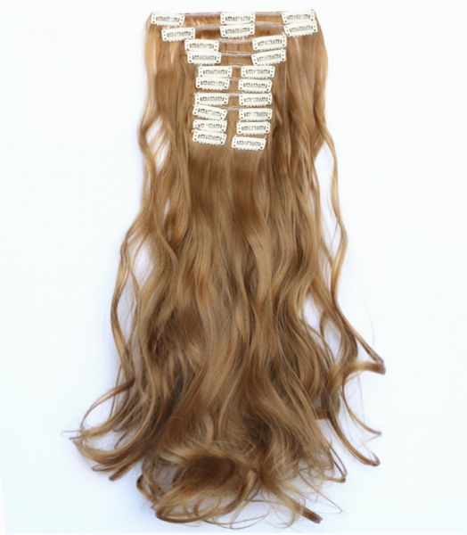 Souq 12 Sets Long Curly Hair Extension Kuwait