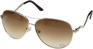a15d1ec5403f3 Guess Aviator Gold Women s Sunglasses - GUESSSUN-GU7021-GLD-34-63-12-130