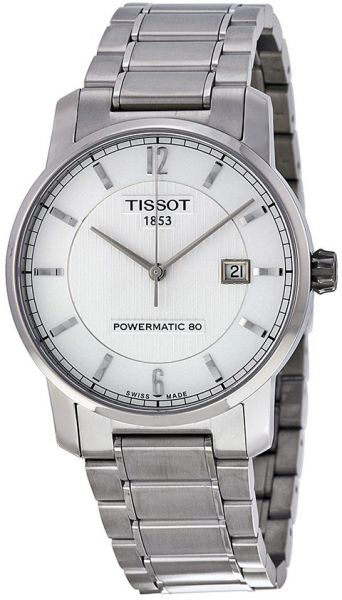 a257dab9ba6 Tissot T-Classic Men s Silver Stainless Steel Band Watch - T0874074403700