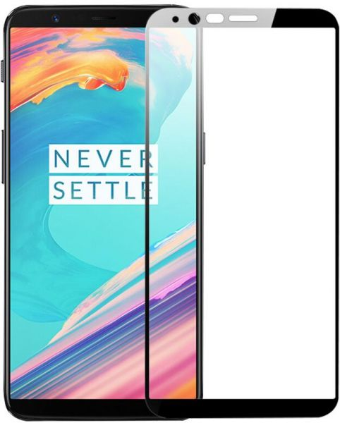 save off d2ee0 d2d71 Oneplus 5T Tempered Glass Screen Protector One Plus 5T Oneplus5T Full Cover  9H 2.5D Ultra Thin Protective Film Guard