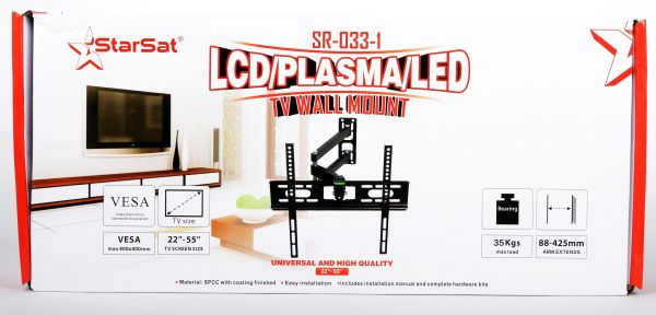 StarSat SR-033-1 LCD/Plasma/LED TV Wall Mount | Souq - Egypt