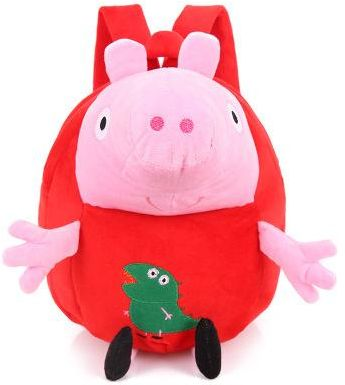 George Cartoon Bag Stuffed Plush Dolls Peppa Pig Plush Toys Girls