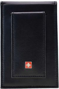 3fbd4b361a9 Swiss Military Leather Men s Money Clip Wallet PW02