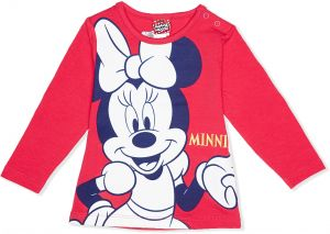794983fb0a7d3 ديزني Pullover Top for Girls - Red