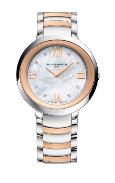 Baume & Mercier Casual Watch For Women Analog Mixed - A10252