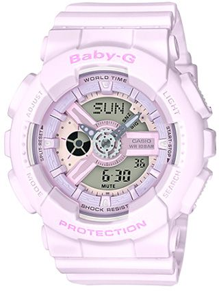 Casio G-Shock Women s Off White Dial Resin Band Watch - BA-110-4A2DR ... eefd7935f7