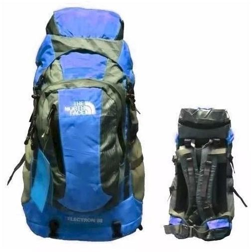 14cfd1e89 North Face Electron Backpacks 60L - Blue