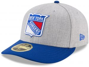 NHL New York Rangers Adult Change Up Redux Low Profile 59FIFTY Fitted Cap 585ac2b85d6f