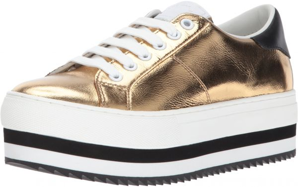 69faab99bf22 Marc Jacobs Women s Grand Platform Lace up Sneaker