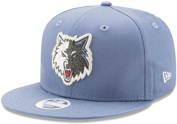 NBA Minnesota Timberwolves Women s Team Glisten Snap 9FIFTY Cap 690070ce8db