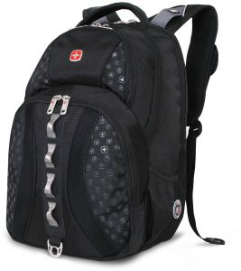 SwissGear SA9768 Black Laptop Computer Backpack - Fits Most 15 Inch Laptops  and Tablets 653a2d52e2a3c