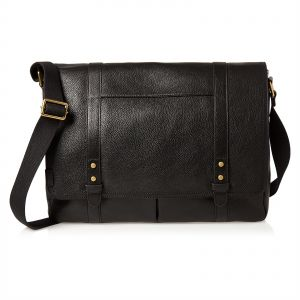 Fossil Messenger Bag For Men Black