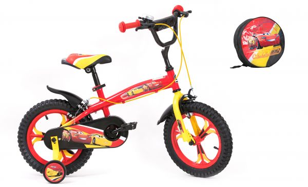 Souq | Spartan 14-Inch Disney Cars 3 Premium Bicycle with Bag - Q ...