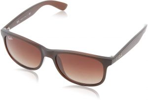 81c957dcba8 Ray-Ban Andy - Matte Brown Frame Brown Gradient Lenses 55mm Non-Polarized