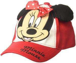 7fc06ee658b Disney Toddler Girls Minnie Mouse Bowtique Cotton Baseball Cap