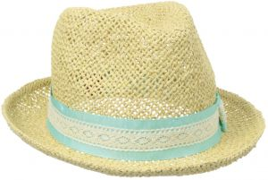 San Diego Hat Little Girls  Straw Fedora with Grosgrain Bow 435a0ac2bdb