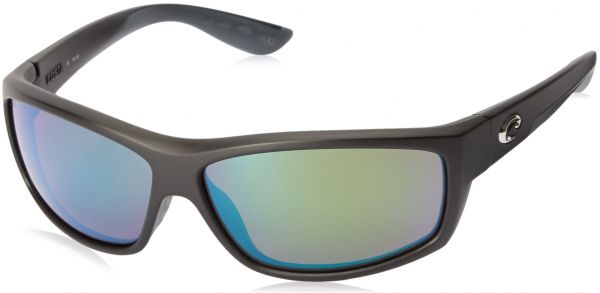 8d666113c9 Costa del Mar Unisex-Adult Saltbreak BK 11 OGMGLP Polarized Iridium Wrap  Sunglasses