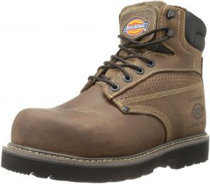 DanceNwear Mens All Leather Upper with Sleek 5 Hole Design 8.5 Coffee Brown