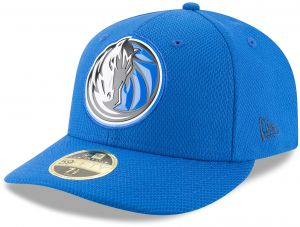 New Era NBA Dallas Mavericks Adult Bevel Team Low Profile 59FIFTY Fitted Cap 915206c972fd