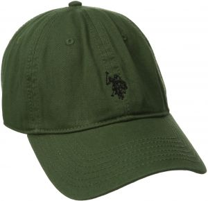 U.S. Polo Assn. Men s Small Horse Washed Twill Adjustable Cap abfea18aee26