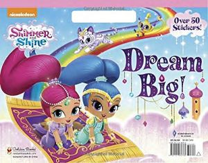 Shimmer And Shine Big Coloring Book