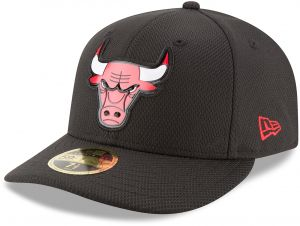e6c34339a6e NBA Chicago Bulls Adult Bevel Team Low Profile 59FIFTY Fitted Cap