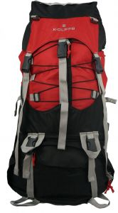 7b4450da69e K-Cliffs Hiking Internal Frame Camping Backpack Scout Daypack Outdoor  Mountain Travel Bag with Rain Cover, Large, Red