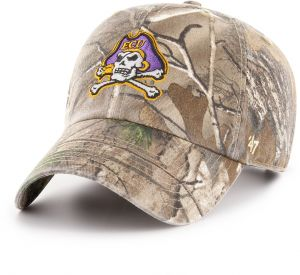 separation shoes 4232a 7c7bf  47 NCAA East Carolina Pirates Adult Clean Up Realtree Adjustable Hat, One  Size, Realtree Camo