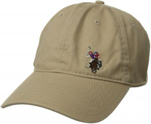 518cdc23d0259 U.s. Polo Assn. Men s Washed Twill Baseball Cap