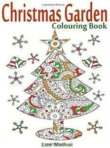 Christmas Garden Colouring Book For Adults Featuring Creative Trees