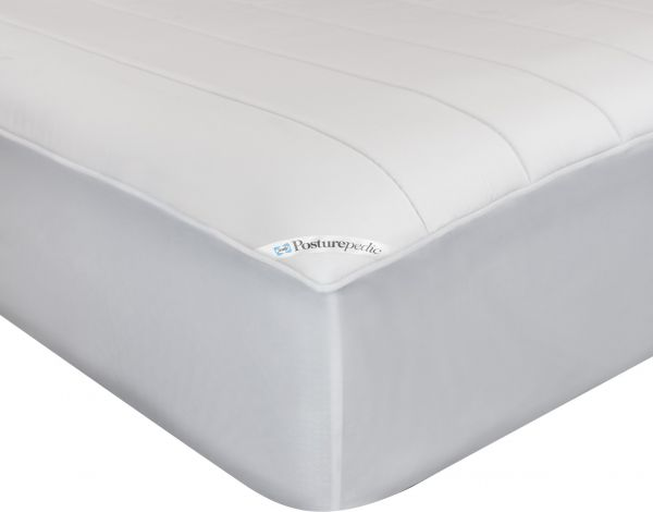 Sealy Posturepedic Memory Foam Fitted Mattress Protector King White 56171SLY
