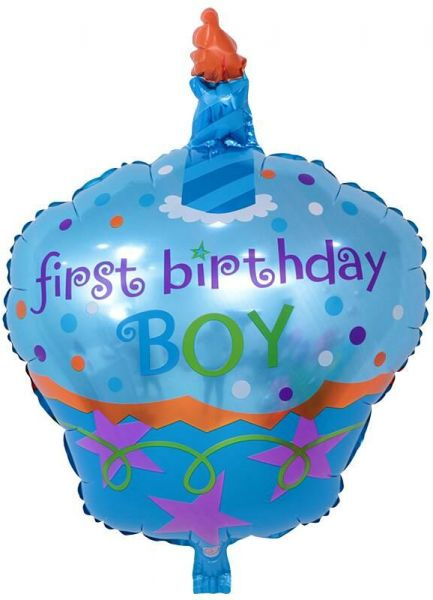 BESTPICKS 48x68 Cms Foil Balloon For Baby Boy First Birthday Party Home Decoration