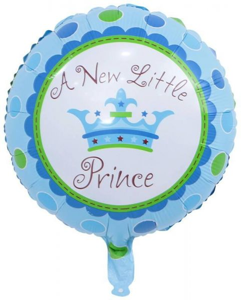 BESTPICKS 18 Inches Foil Balloon For New Born Baby Boy Birthday Party Home Decoration