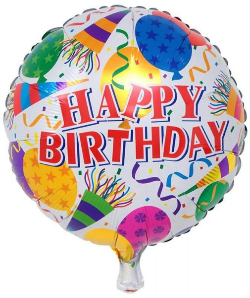 Souq BESTPICKS 18 Inches Colorful Foil Balloon for Birthday Party