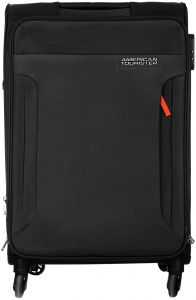 american tourister 32o 09 002 luggage trolley bag for unisex black