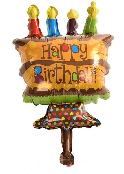 BESTPICKS 48x26 cms Colorful Balloon for Birthday Party Home