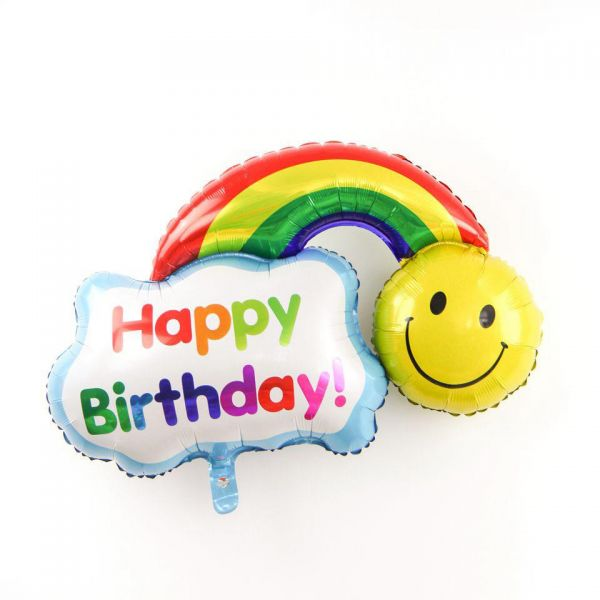 BESTPICKS 46x40 cms Colorful Foil Balloon for Birthday Party Home